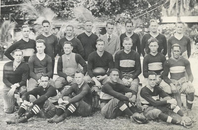Outrigger Canoe Club Championship Football Team 1920