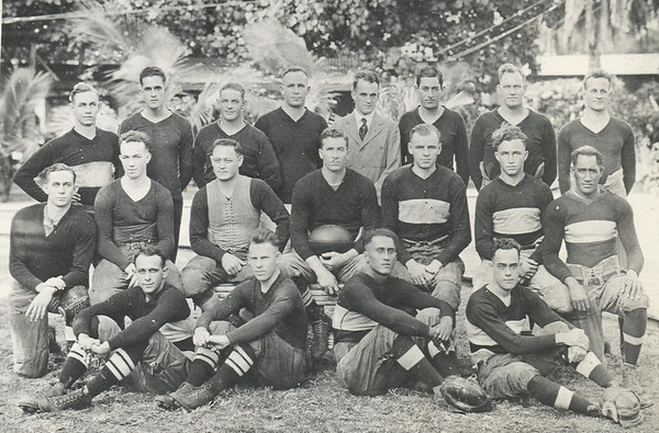 Outrigger Canoe Club Championship Football Team 1920
