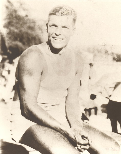 "Olympian Clarence ""Buster"" Crabbe 1928, 1932"