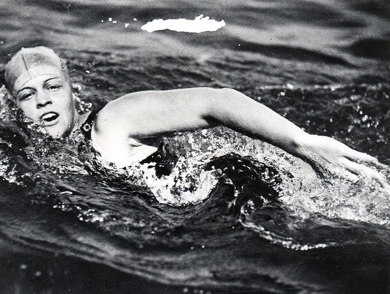 Olympian Mariechen Wehselau Jackson 1924