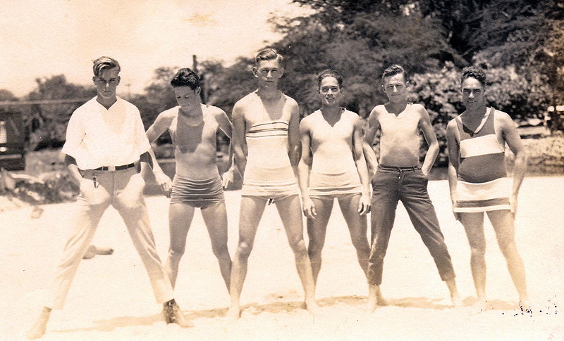 1920s Outrigger Canoe Club Volleyball Team