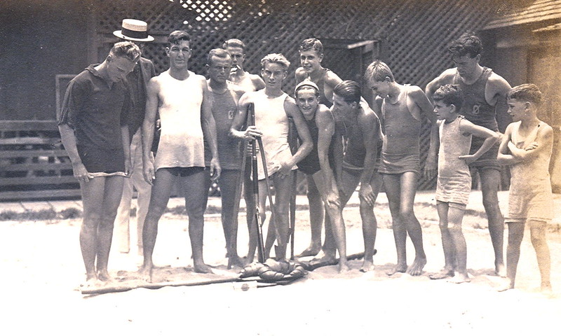 1920s Outrigger Canoe Club Boys