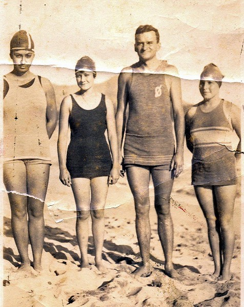 Outrigger Canoe Club Swimmers 1920
