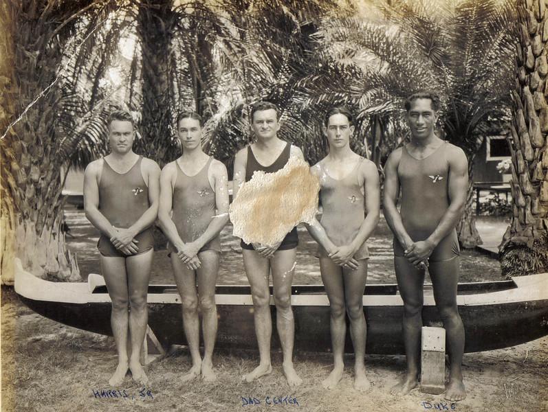 Outrigger Canoe Club  1921