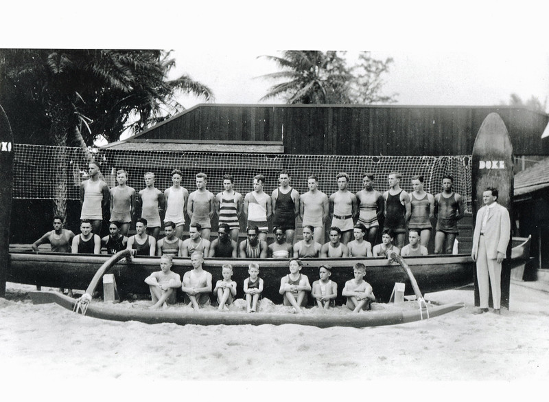 Outrigger Canoe Club Swim Team c1922