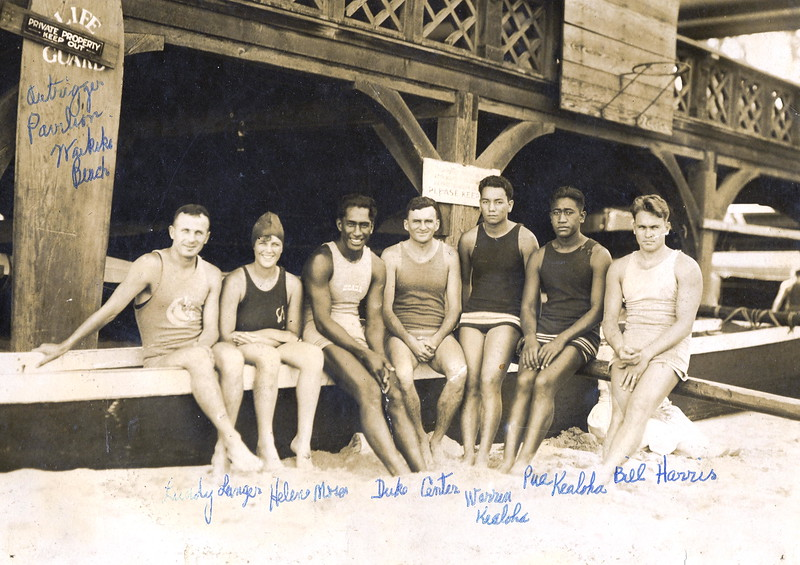 Hawaii Olympic Swimmers 1920