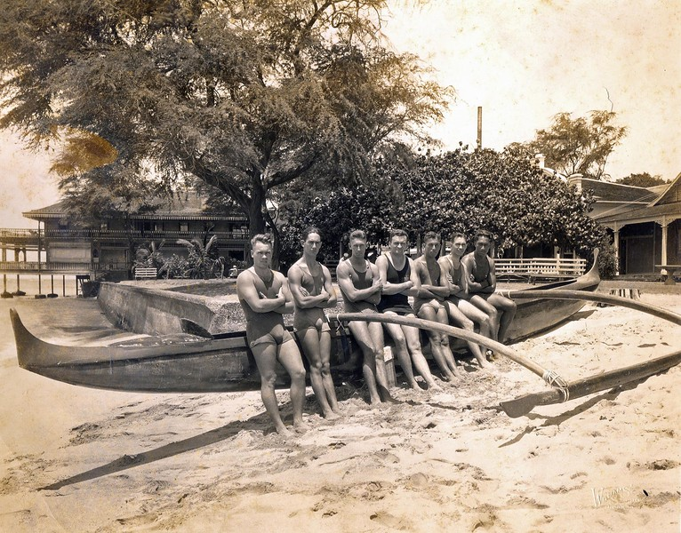Outrigger Canoe Club Relay Team 1921
