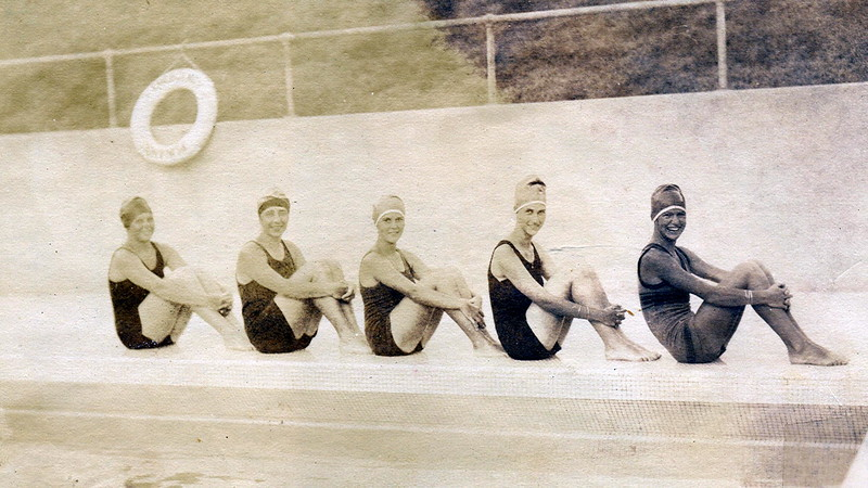 Outrigger Canoe Club Swimmers 1922