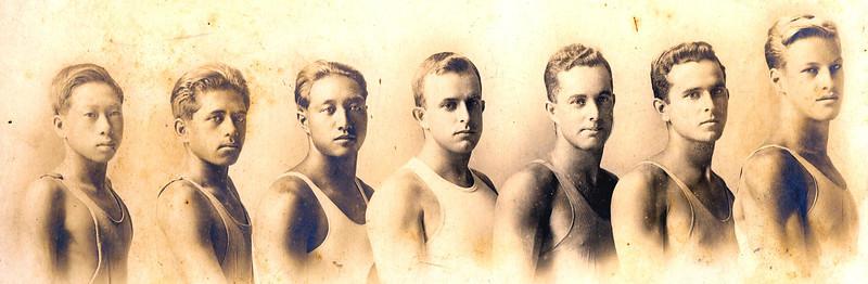 Labor Day Relay 9-5-1916 Healani Winners