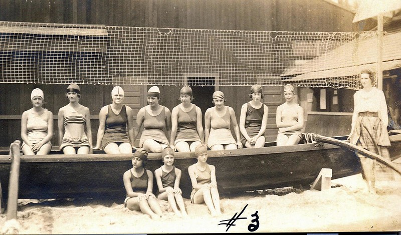 Outrigger Canoe Club Swimmers c1922