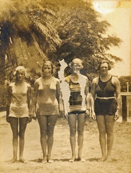 Yale-Hawaii Swim Meet 1921
