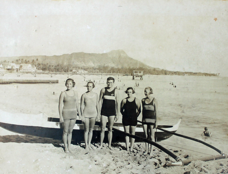 Outrigger Canoe Club Swim Team 1921