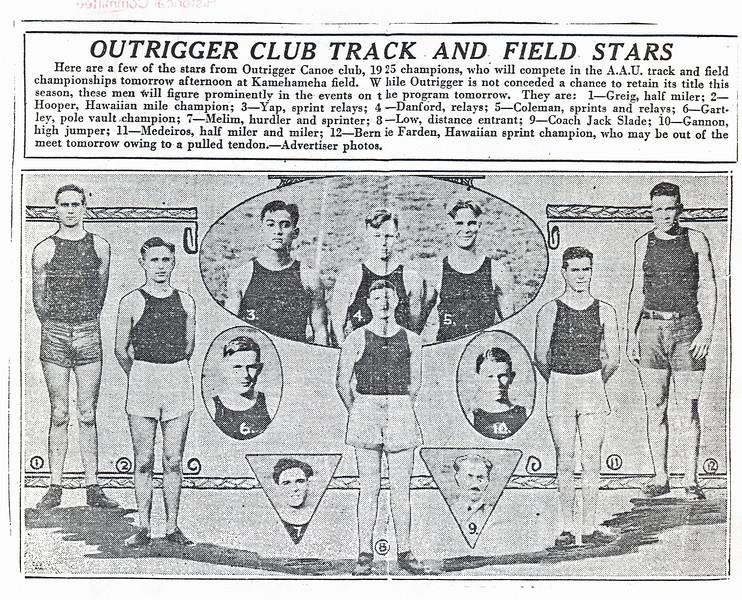 AAU Track & Field Championship 1925