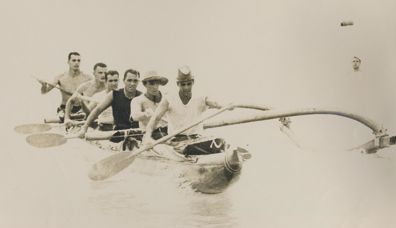 1954 Molokai to Oahu Canoe Race