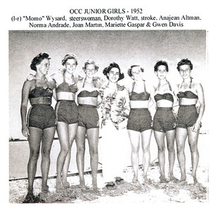1952 Outrigger Canoe Racing