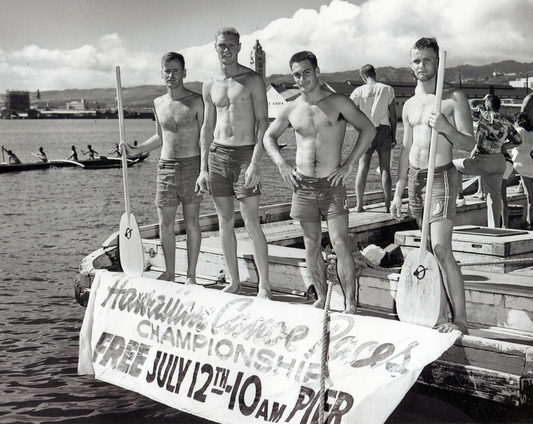 1953 Hawaii Canoe Race Championships