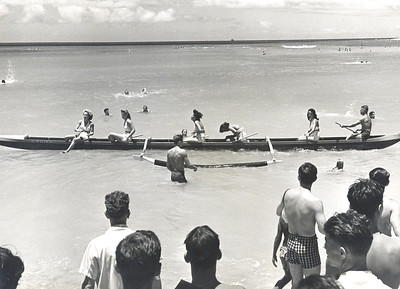 1940s Outrigger Canoe Racing
