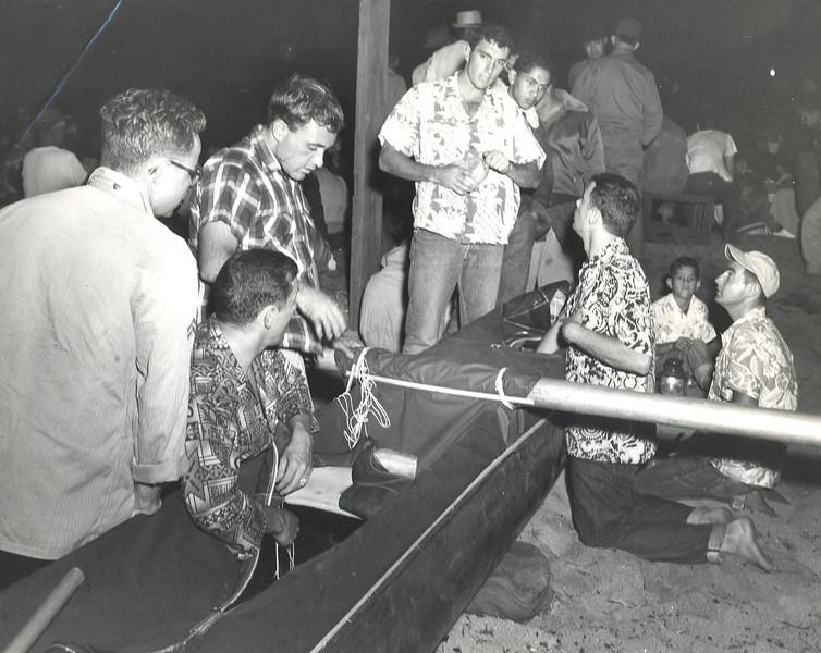 1954 Molokai to Oahu Canoe Race