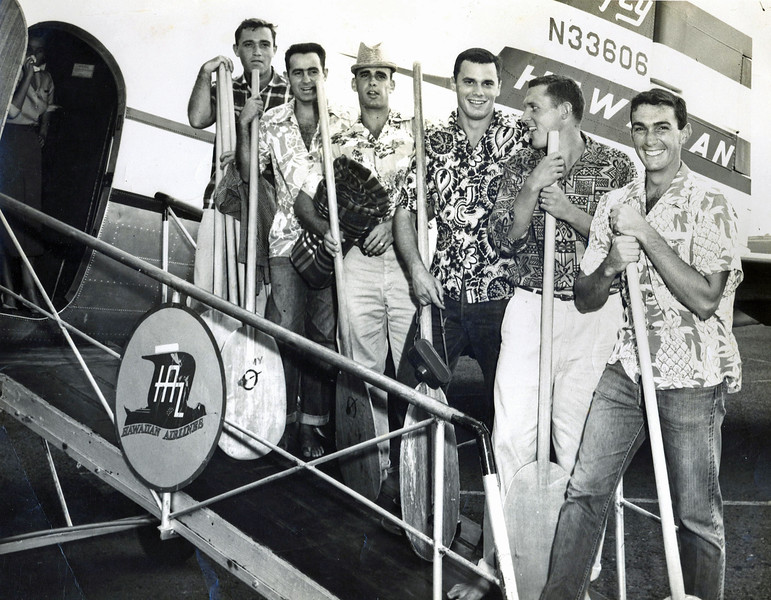 1954 Molokai to Oahu Race