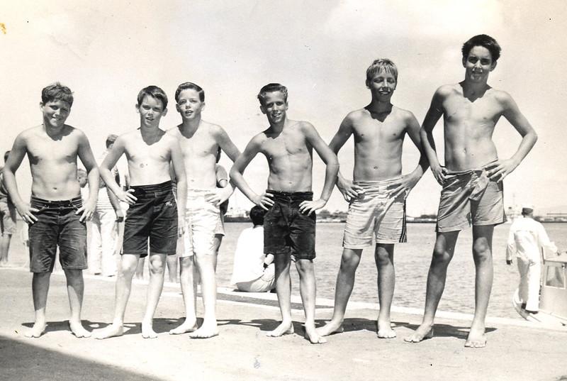 1957 Maritime Day Canoe Race