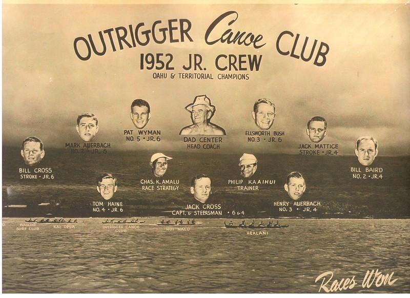 1952 Oahu & Territorial Champions