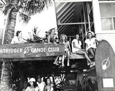 Outrigger Canoe Club Clubhouse 1941-1963