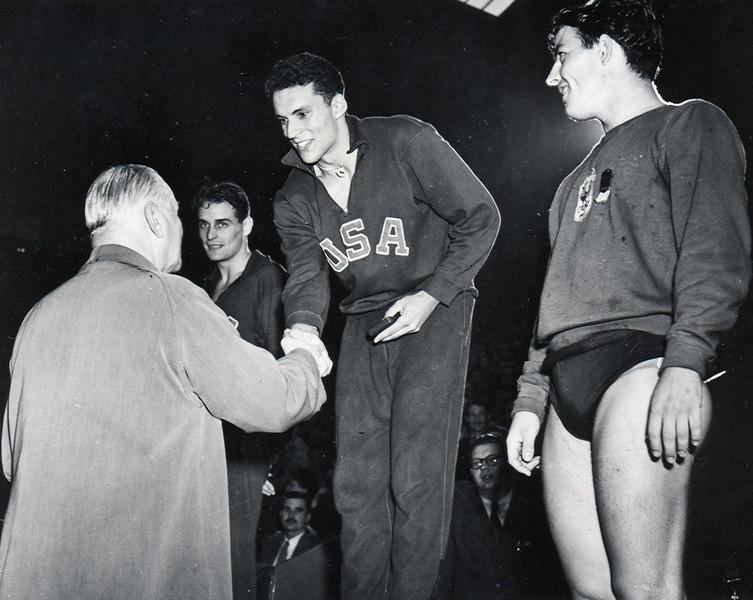 Olympian Allen M. Stack