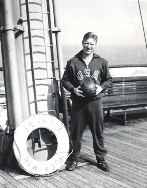Olympian Frank Walton