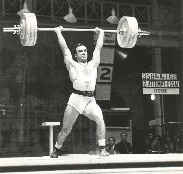 Olympian Peter George