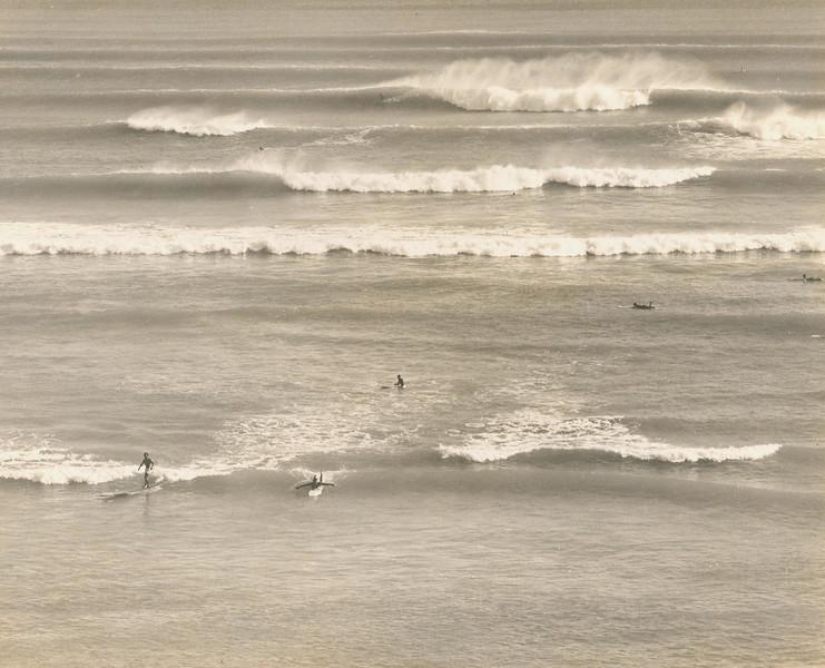 1949 Waikiki Surf Sites