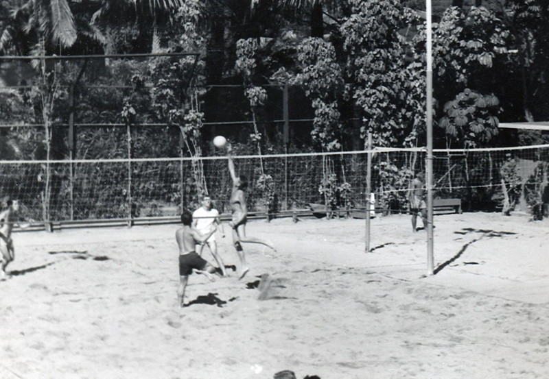 1940s Outrigger Canoe Club Sand Volleyball
