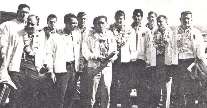 1960 Outrigger Canoe Club Volleyball Team