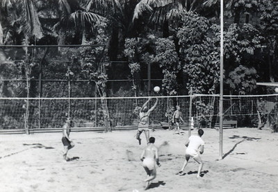 1940s Outrigger Canoe Club Volleyball