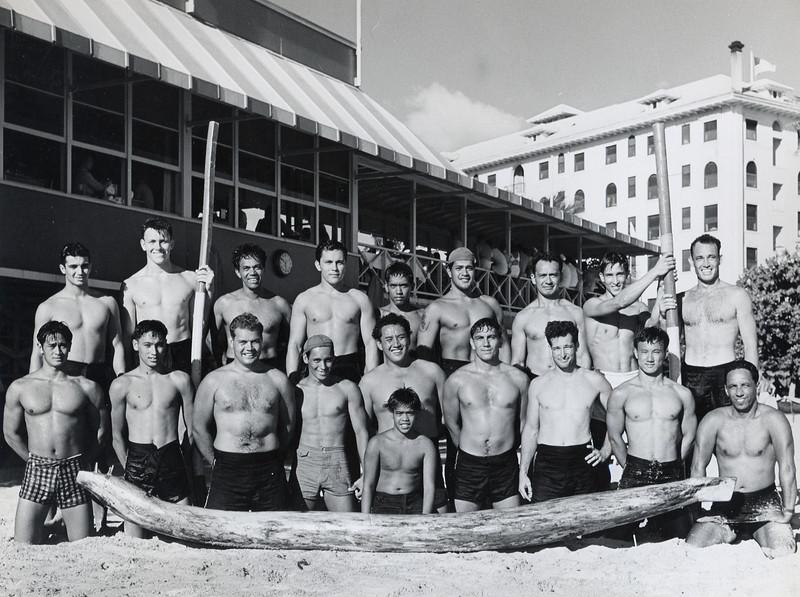 1940s Hui Nalu Paddlers