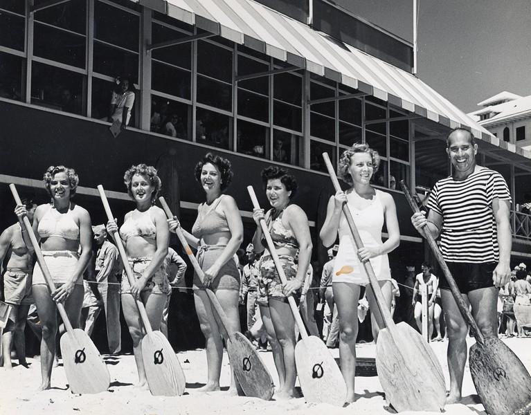 1940s Canoe Racing