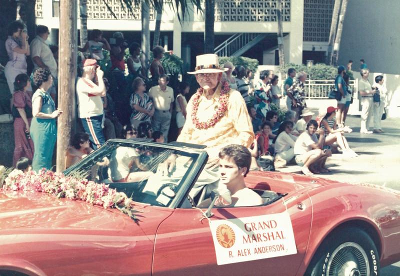 1985 Aloha Week Parade