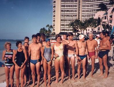32nd Annual Castle Swim 12-1-85