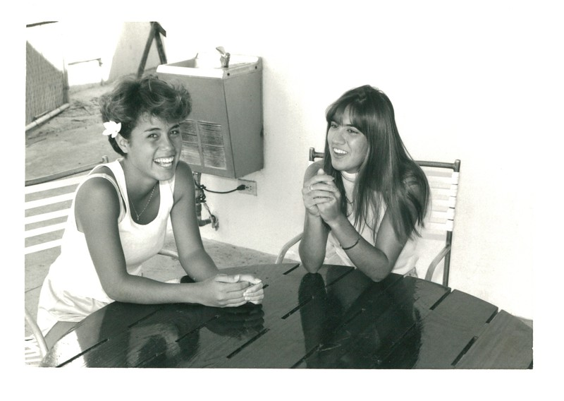 1985 Kela Asam and Heather Moore
