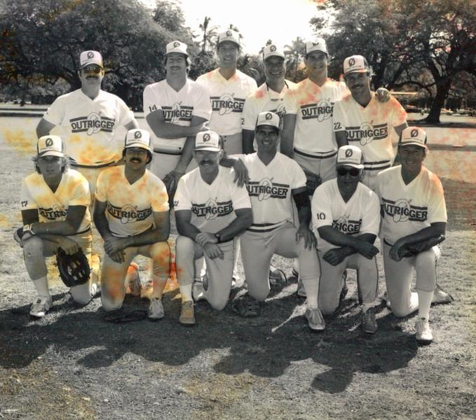 1985 OCC Softball Team