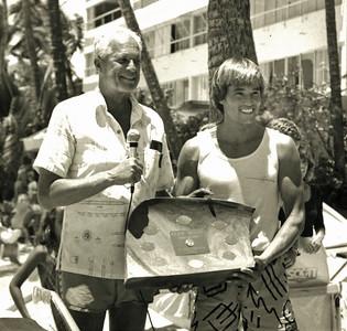 1st Annual Cline Mann 5K Paddleboard Race 8-10-1985