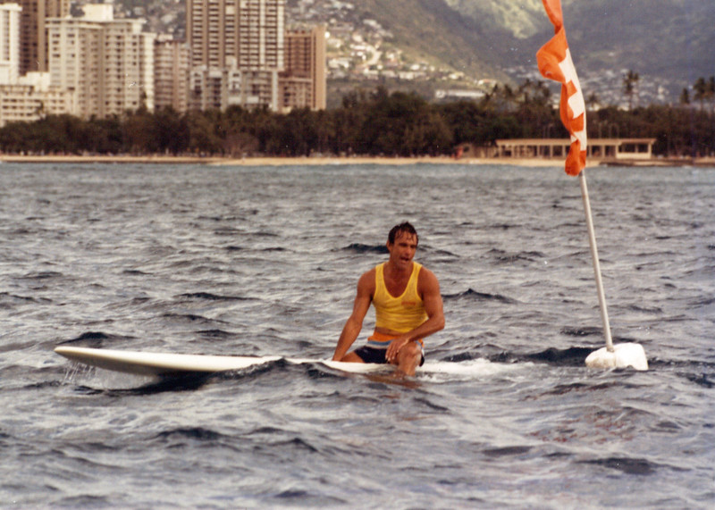 1985 Cline Mann 5K Paddleboard Race