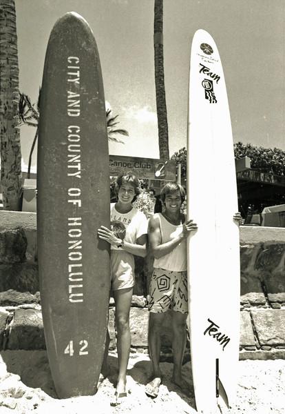 1985 Cline Mann 5K Paddleboard Race