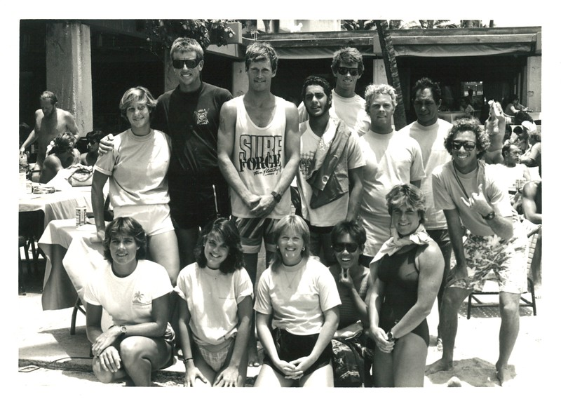 1985 Summer Surf Paddleboard Race