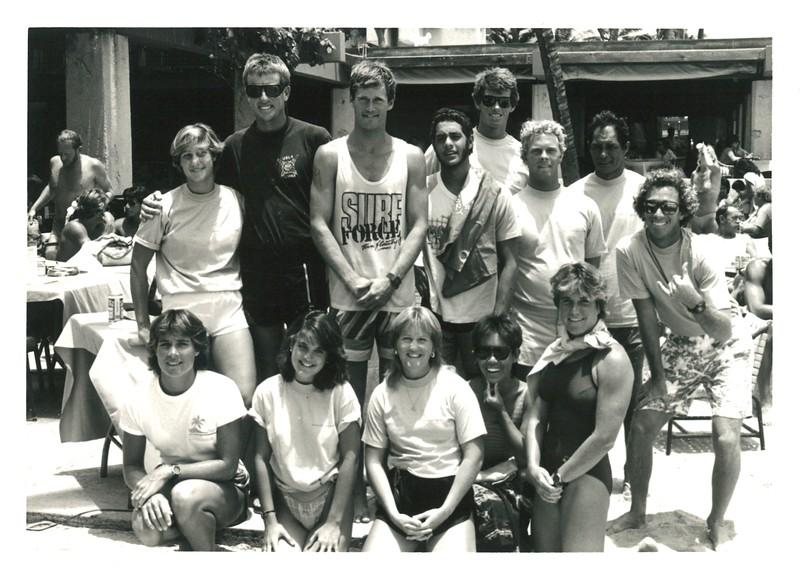 1985 Summer Surf Paddleboard Race