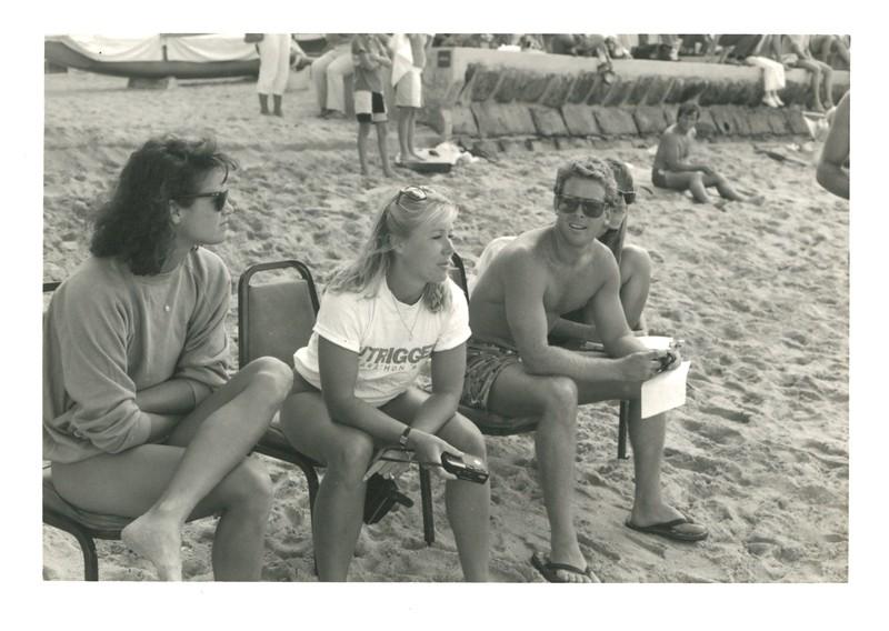 1985 Waikiki Winter Ocean 10K Paddleboard Race