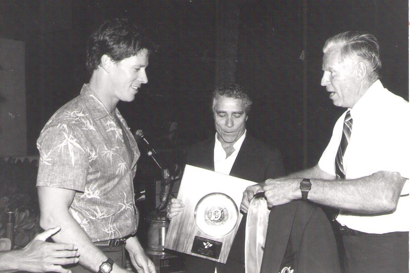 1986 Athletic Awards Banquet