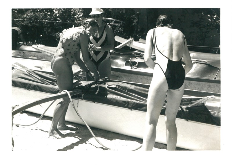 1986 Dad Center Canoe Race