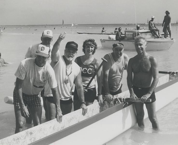 1986 Macfarlane Regatta Makule Crew 1986 Macfarlane Regatta
