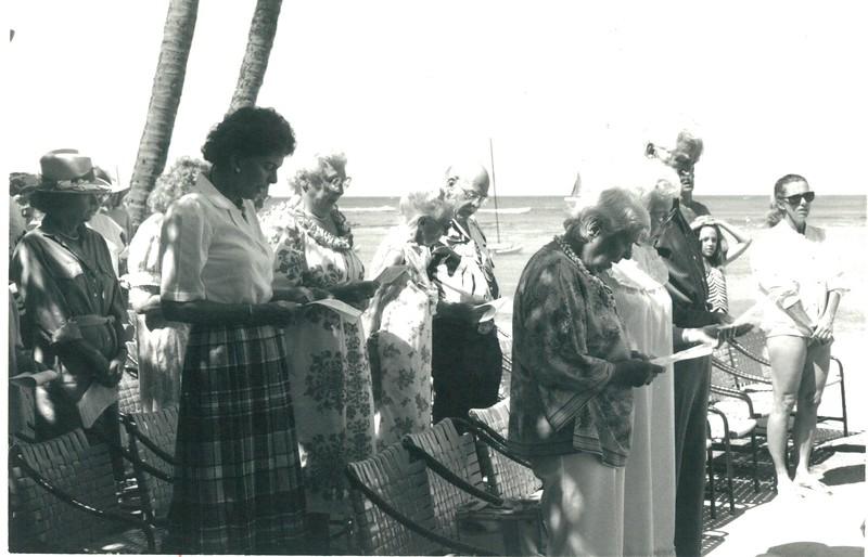 1986 Memorial Day Service