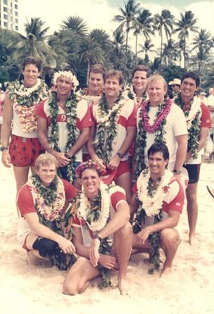 35th Annual Molokai Hoe 10-10-1986